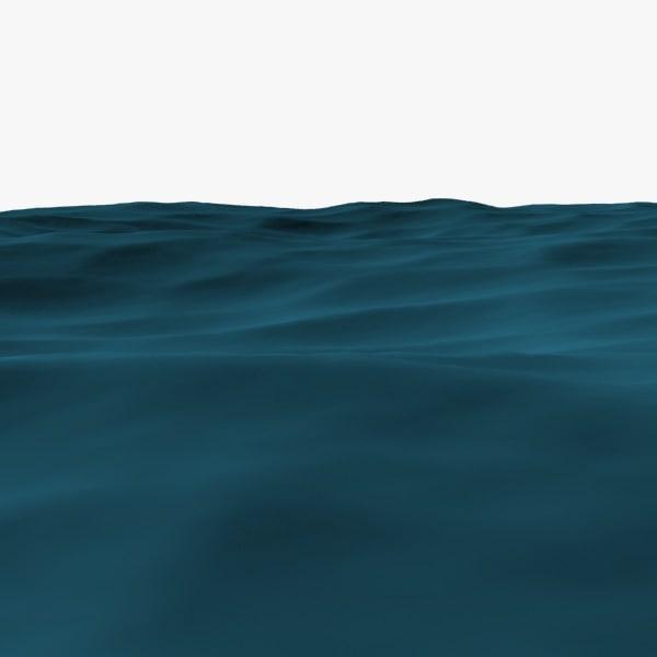 Ocean 3D model