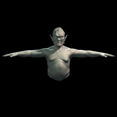 Ogre 3D model
