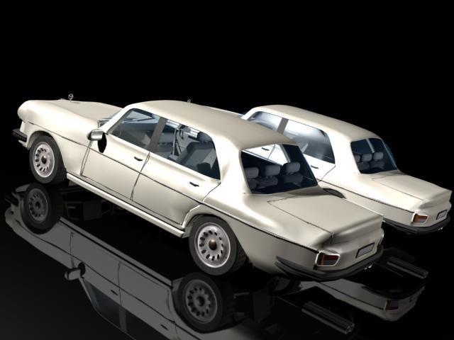 Old Mercedes 3D model