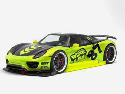 Porsche Chimera 918 Concept