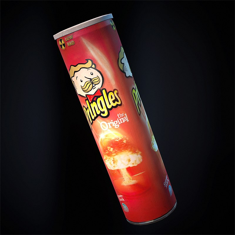 Prlngles Snack Chips 3D model