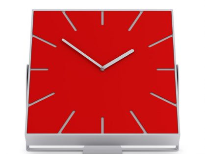 Rectangular clock