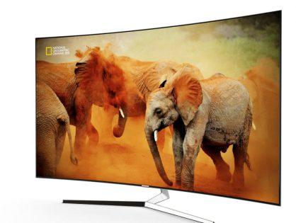 Samsung KS9500 Curved 4K SUHD TV 3D model