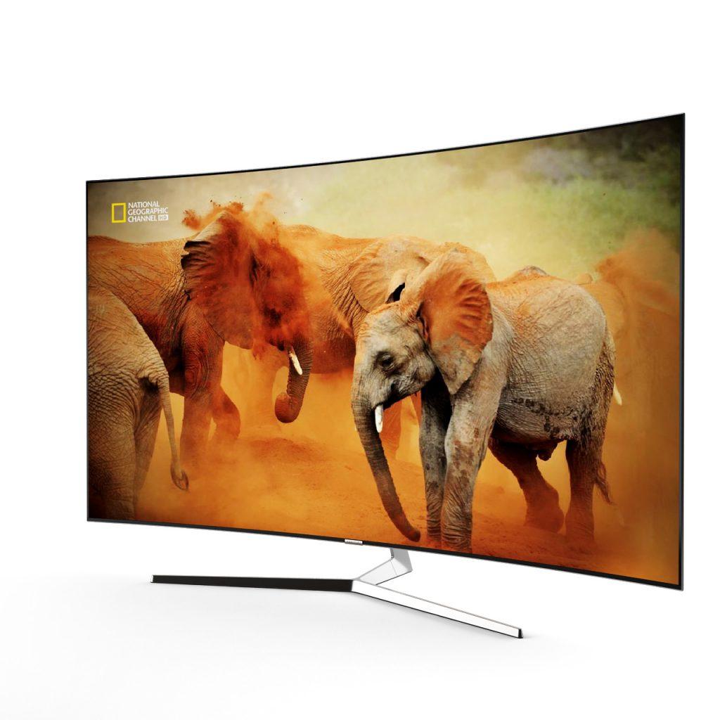 Samsung KS9500 Curved 4K SUHD TV 3D model