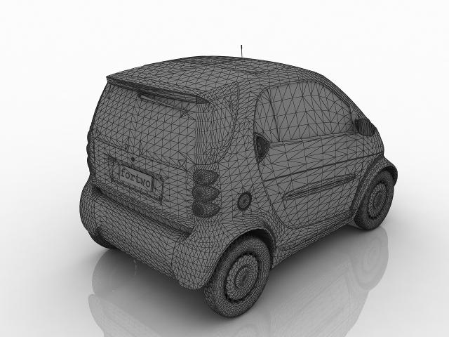 Smart Fortwo 3D model