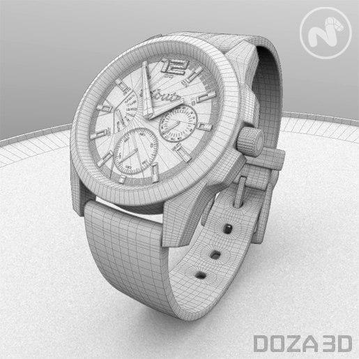 Sports Watch 3D model