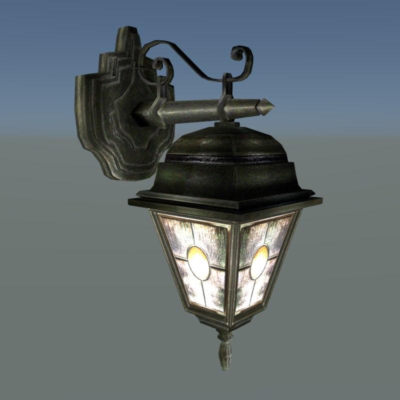 Street Lamp 3D model