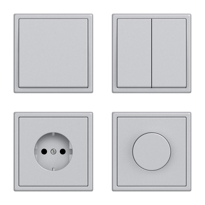 Style switches and sockets 3D model