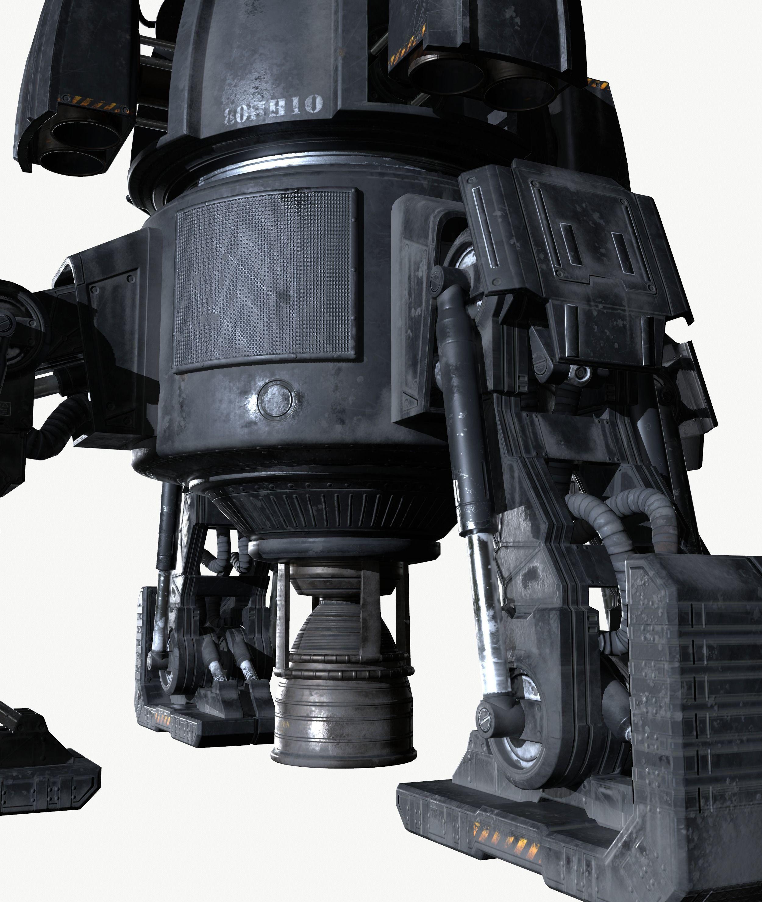 Turret Game 3D model