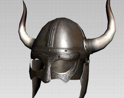 Viking Horned Helmet