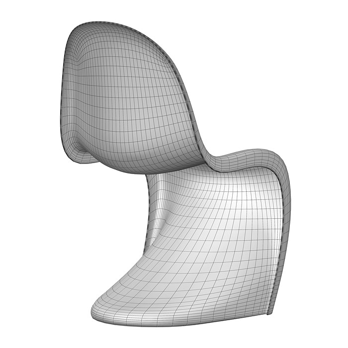 Vitra Panton chair 3D model