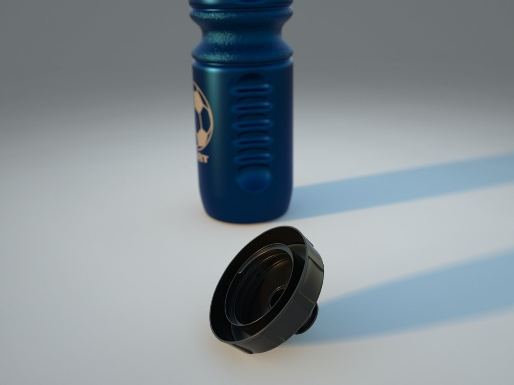 Water Bottle 3D model
