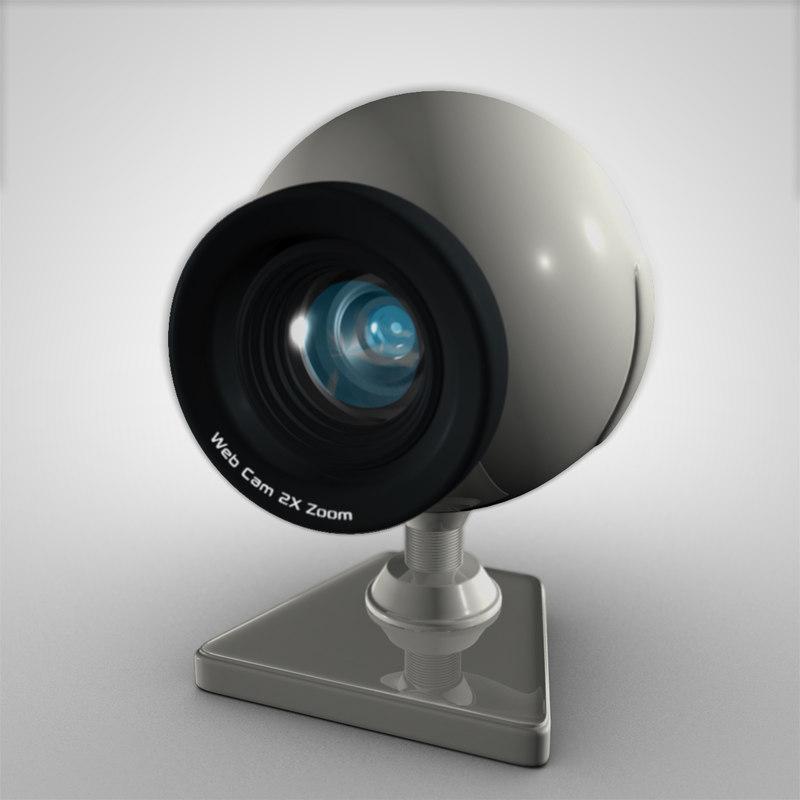 Web Cam 2X Zoom 3D model