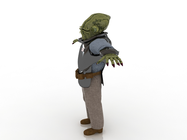 Akbar 3D model