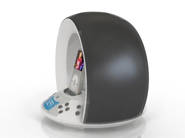 Audio system 3D model