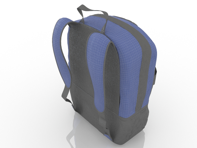 backpack 3d model free