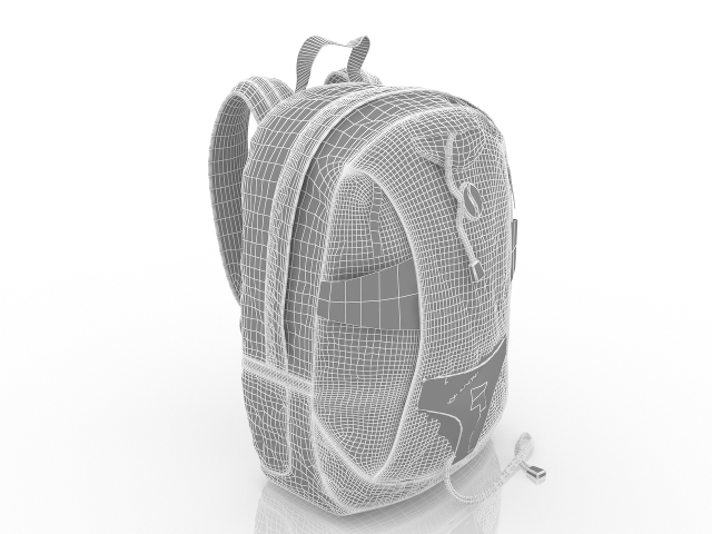 Backpack free 3d model