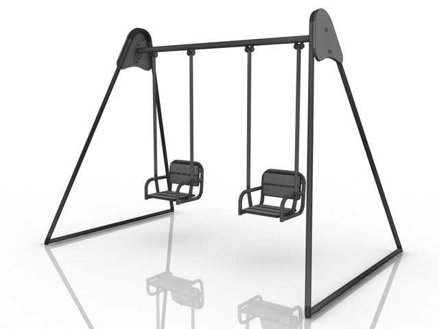 Children's swing 3D model