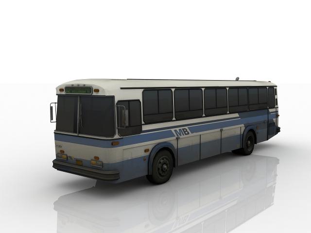 City Bus 3D model