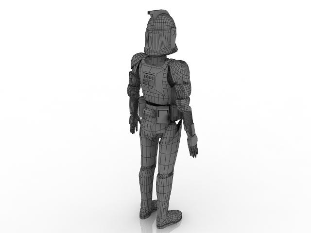 Clone 3D model