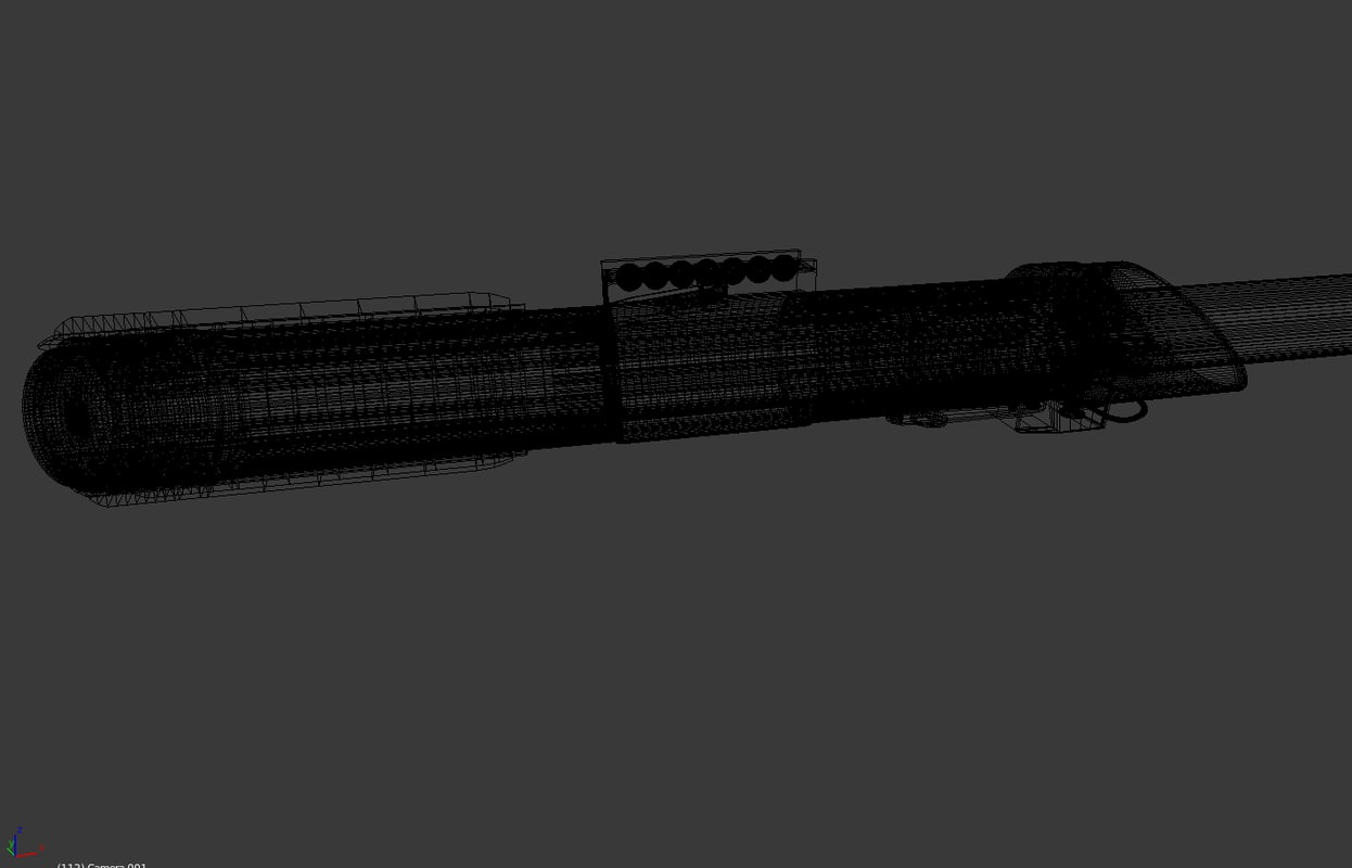 Darth Vaders Lightsaber 3D model