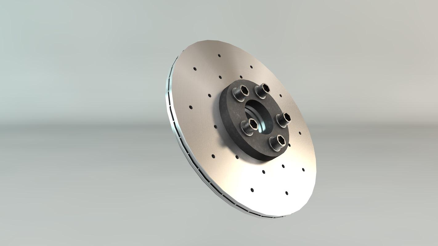 Disc Brake 3D model