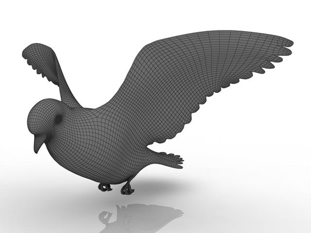 Dove 3D model