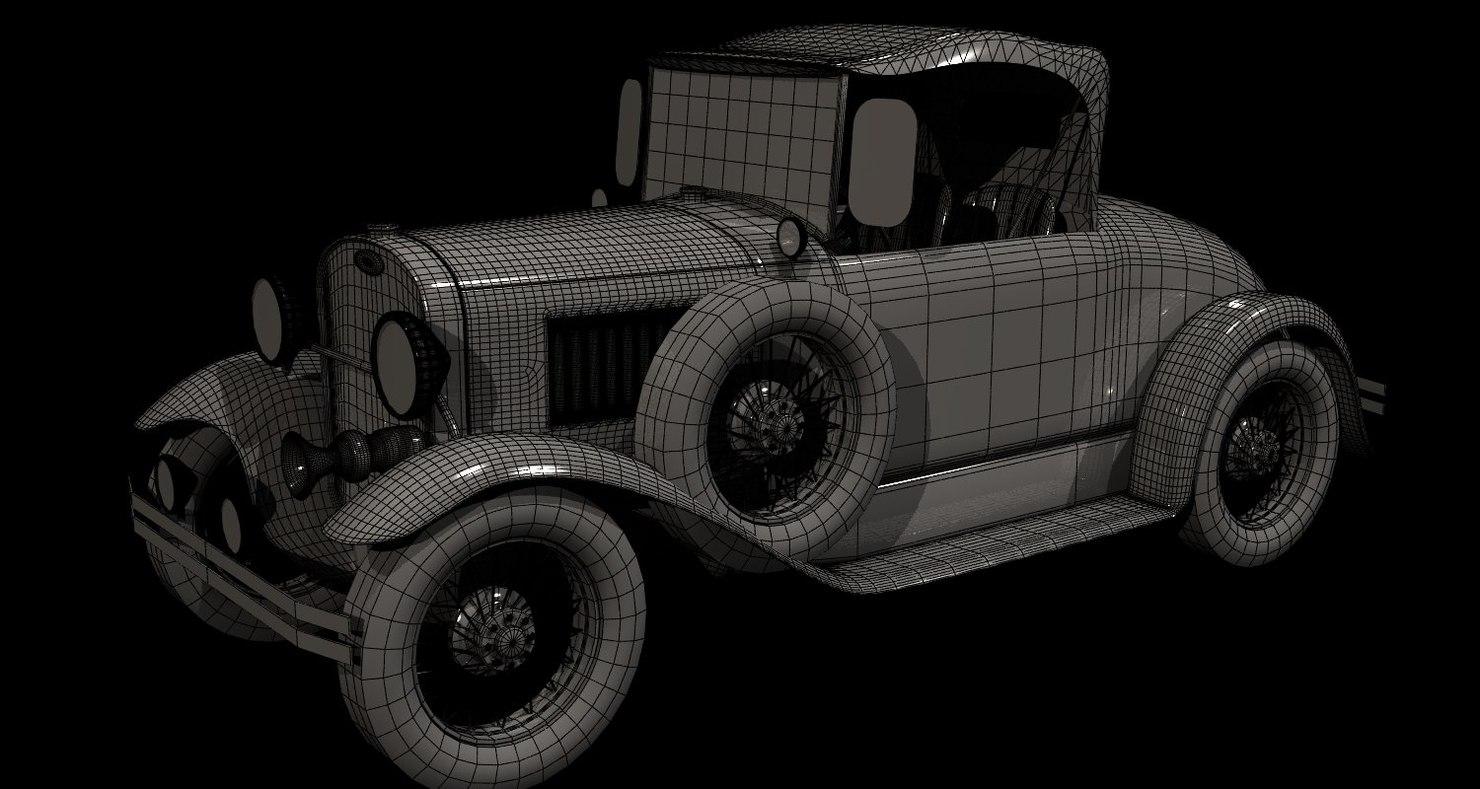 Ford Roadster 3D model