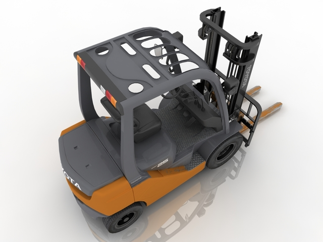 forklift 3d model free download