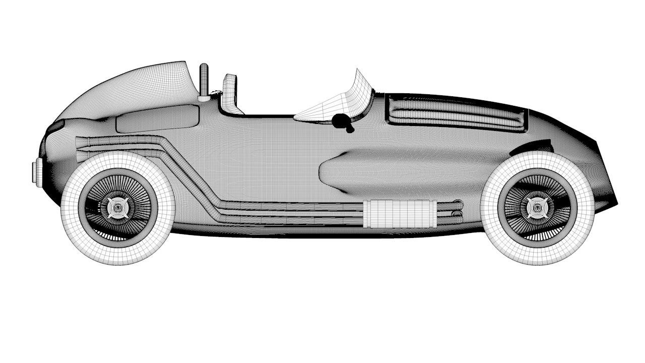Formula Vee car 3D model