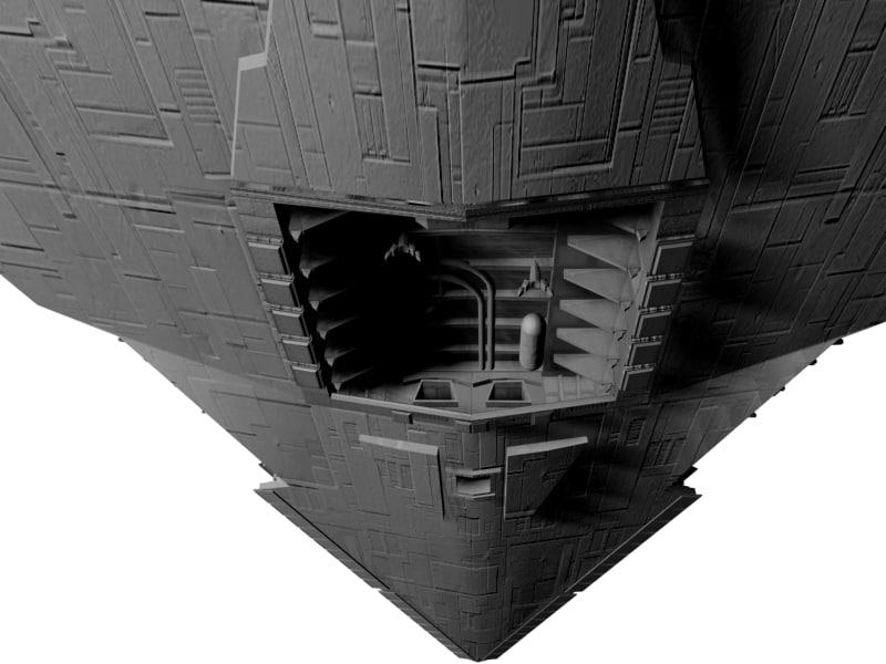 Imperial Star Destroyer 3D model