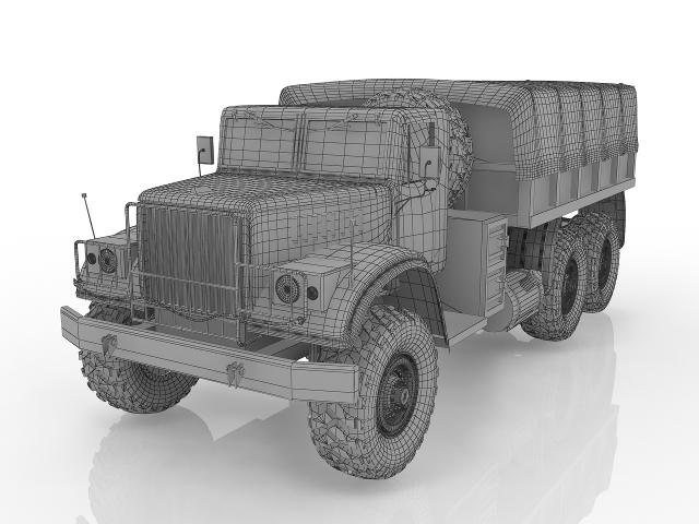 Kraz 3D model