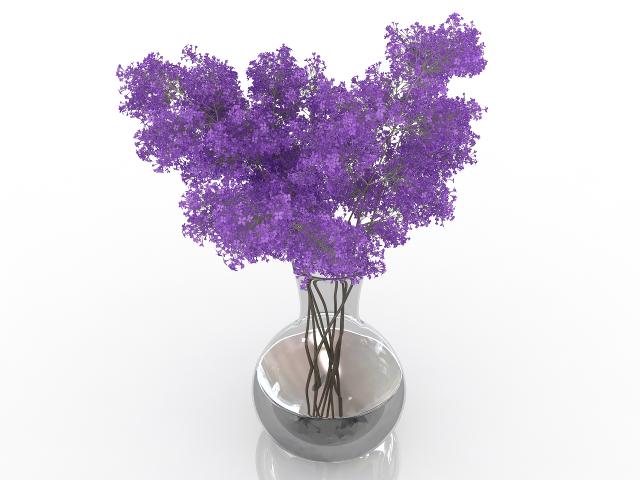 Lilac 3D model