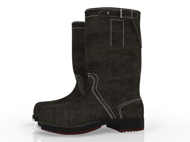 Men's boots 3D model