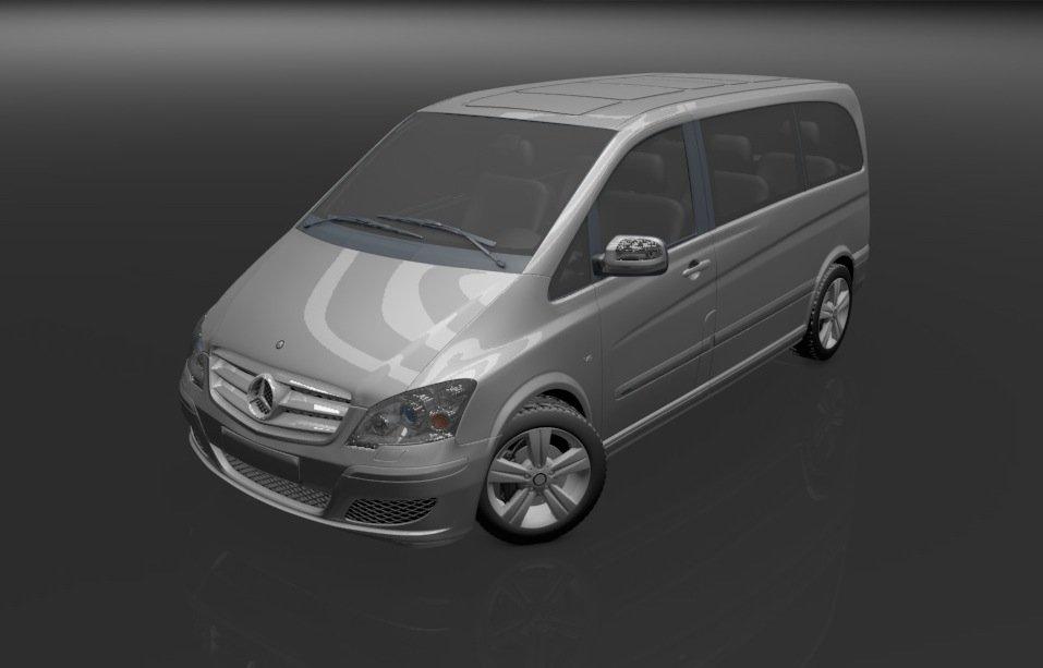 Mercedes Benz Viano 3D model