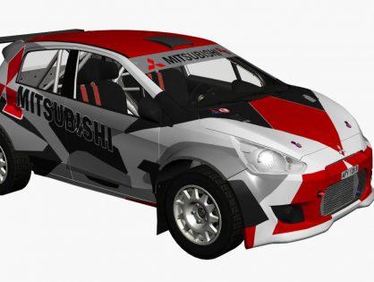 Mitsubishi R5 Rally