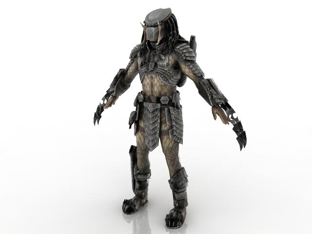 Predator 3D model