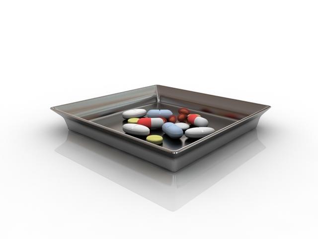 Pills 3D model