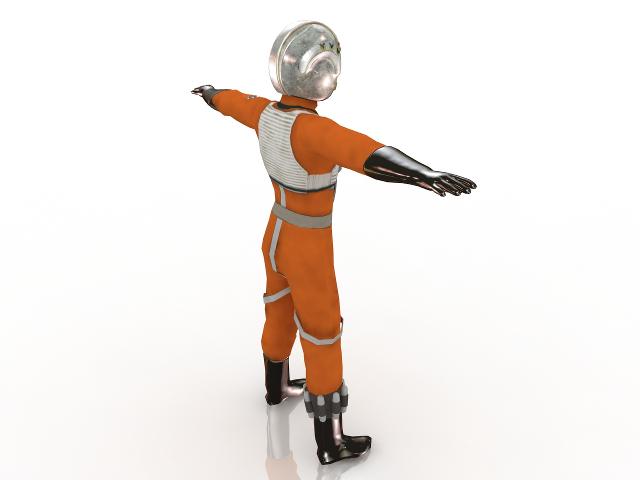 Pilot 3D model