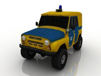 Police UAZ