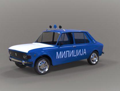 Police car Zastava