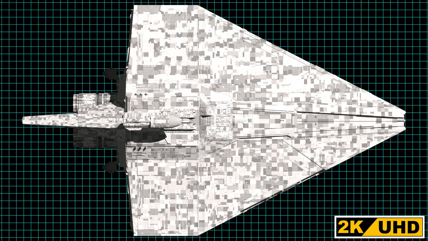Republic Assault Ship 3D model