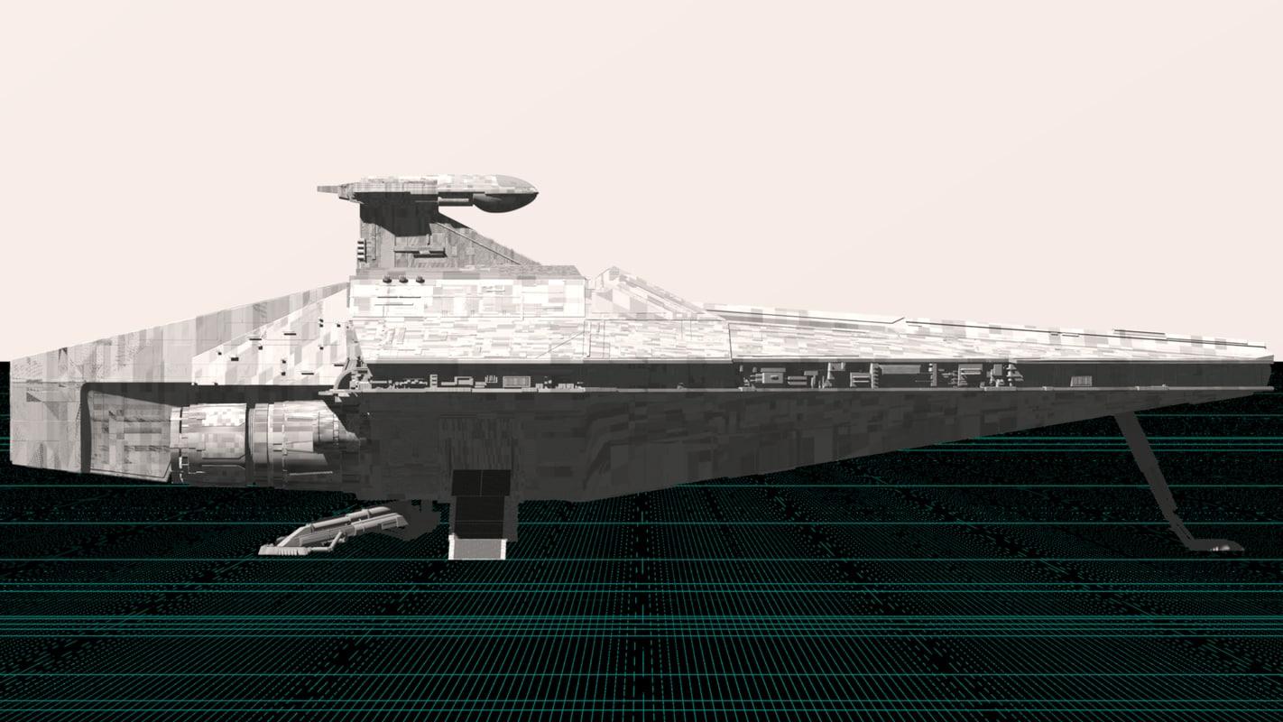 Republic Assault Ship 3D model