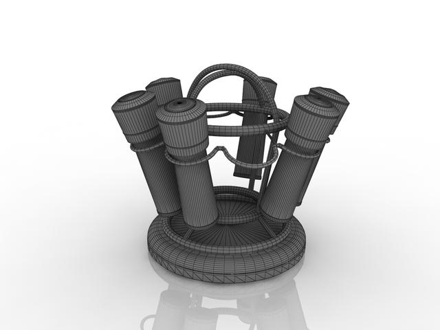 Sets for spices 3D model