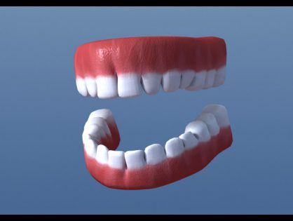 Simple teeth