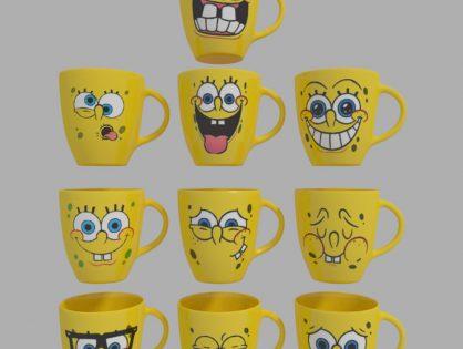 Spongebob Cups