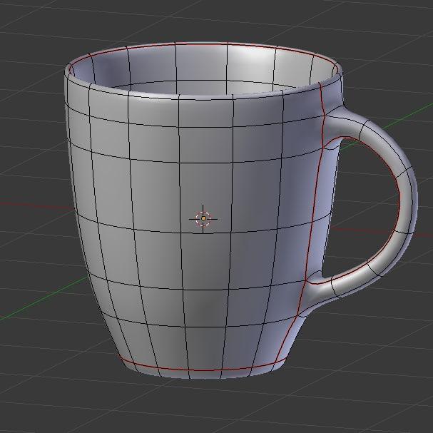 Spongebob Cups 3D model