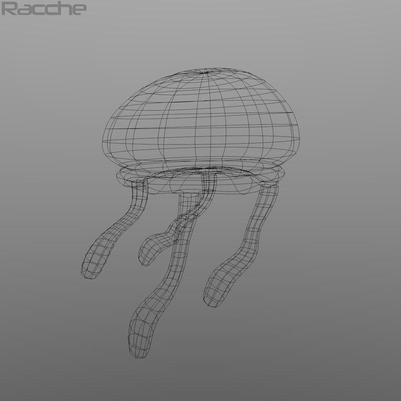 Spongebob Jellyfish 3D model
