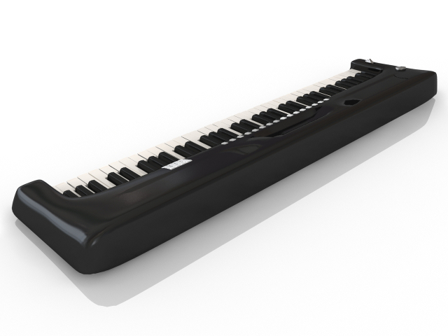 Synthesizer 3D model