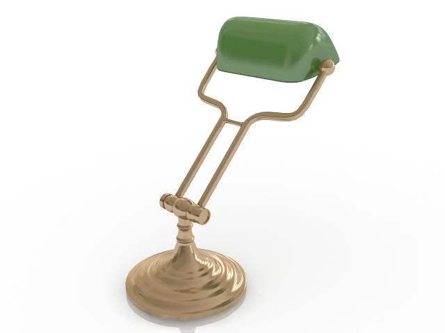 Table lamp 3D model
